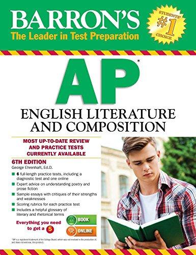 9781438007380: Barron's AP English Literature and Composition, 6th Edition (Barron's AP English Literature & Composition)