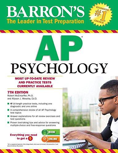 9781438007434: AP Psychology (Barron's AP Psychology Exam)