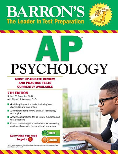 9781438007434: Barron's AP Psychology, 7th Edition