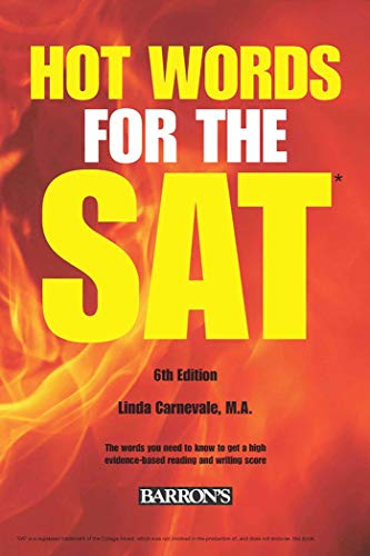 9781438007489: Hot Words for the SAT ED, 6th Edition (Barron's Hot Words for the SAT)