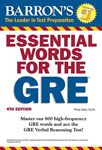 9781438007496: Essential Words for the GRE, 4th Edition (Barron's Essential Words for the GRE)