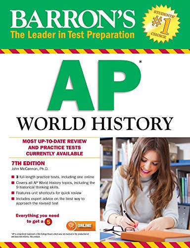 9781438007823: Barron's AP World History, 7th Edition