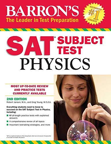 9781438007892: Barron's SAT Subject Test: Physics, 2nd Edition