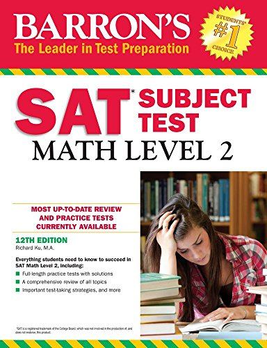 9781438007915: SAT Math Level 2 (Barrons Sat Subject Test)