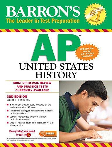 9781438007939: Barron's AP United States History, 3rd Edition