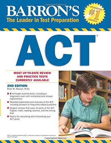 9781438007960: Barron's ACT, 2nd Edition (Barron's Act (Book Only))