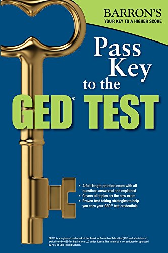 9781438008011: Pass Key to the GED Test, 2nd Edition (Barron's Pass Key to the Ged)