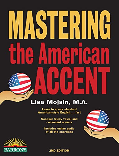 9781438008103: Mastering the American Accent with Downloadable Audio