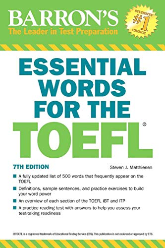 9781438008875: Essential Words for the TOEFL