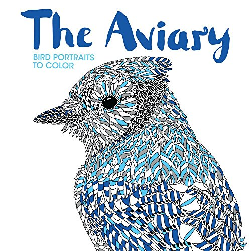 9781438008950: The Aviary: Bird Portraits to Color