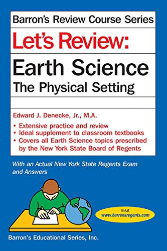 9781438009117: Let's Review Earth Science: The Physical Setting (Let's Review Series)