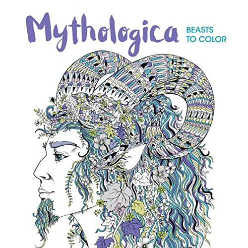 9781438009520: Mythologica: Beasts to Color