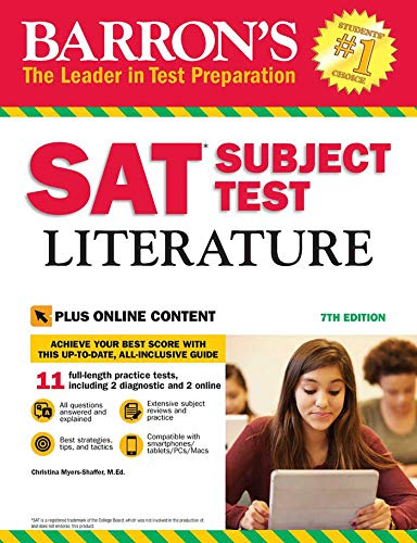 9781438009568: SAT Subject Test Literature with Online Tests (Barron's Sat Subject Test Literature)