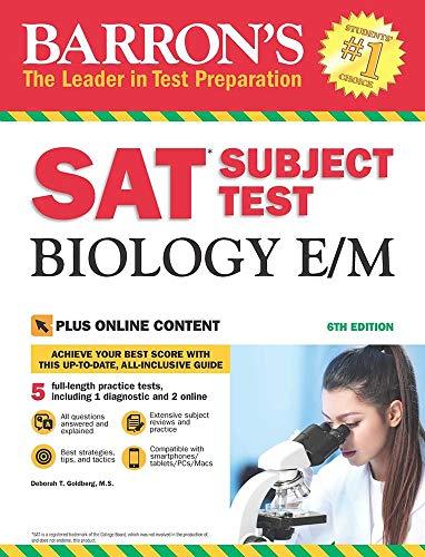9781438009605: SAT Subject Test Biology E/M (Barron's Test Prep)