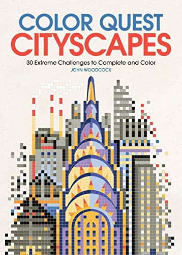 9781438010588: Color Quest: Cityscapes: 30 Extreme Challenges to Complete and Color