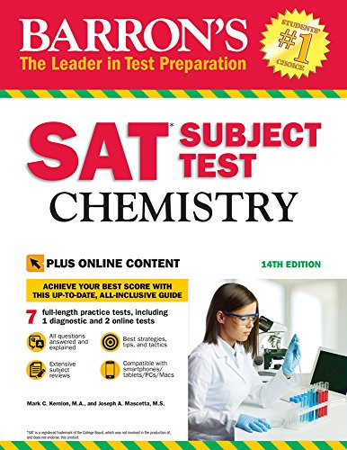 9781438011134: SAT Subject Test: Chemistry with Online Tests
