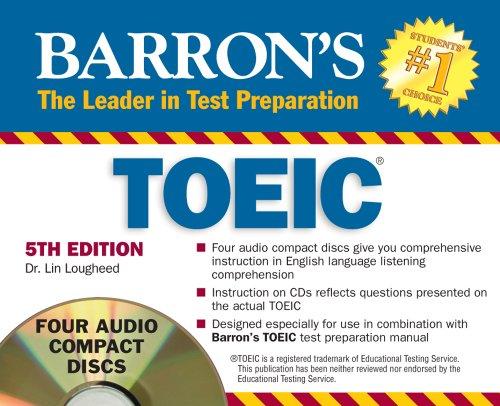 9781438070209: Barron's TOEIC Audio CD Pack