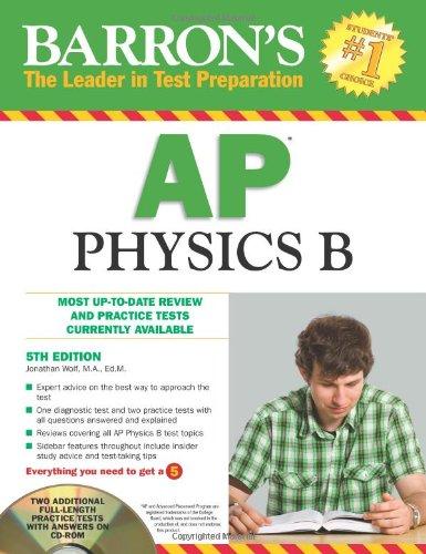 9781438070377: Barron's AP Physics B with CD-ROM (Barron's AP Physics B (W/CD))