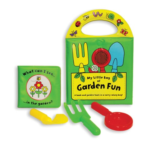 9781438071053: My Little Bag of Garden Fun: Carry-along Bag with Book, Spade, Fork, and Sifter! (My Little Bag Books)