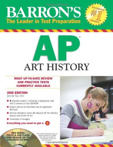 9781438071251: Barron's AP Art History with CD-ROM, 2nd Edition (Barron's AP Art History (W/CD))