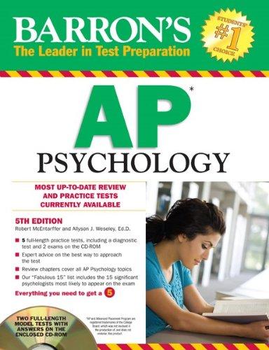 9781438071312: AP Psychology (Barron's Study Guides)