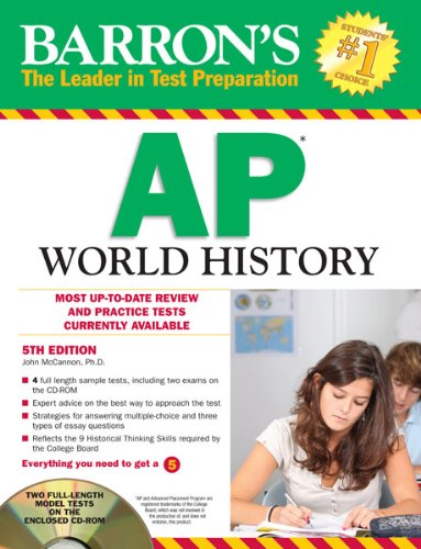 Barron's AP World History with CD-ROM, 5th Edition (Barron's AP World History (W/CD)...