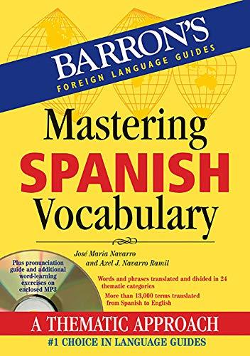 Mastering Spanish Vocabulary with Audio MP3: A: Navarro, Jose Maria,