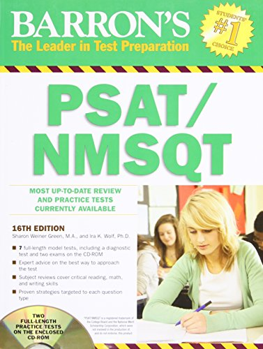 9781438071671: Barron's PSAT / NMSQT With CD-ROM, 16th Edition