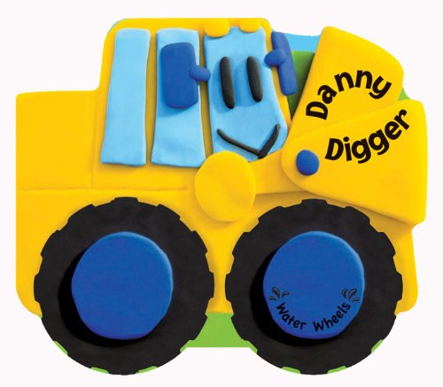 9781438072227: Danny Digger: Bath Books That Float (Water Wheels)