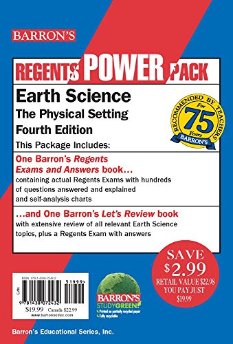 Earth Science Power Pack (Paperback)