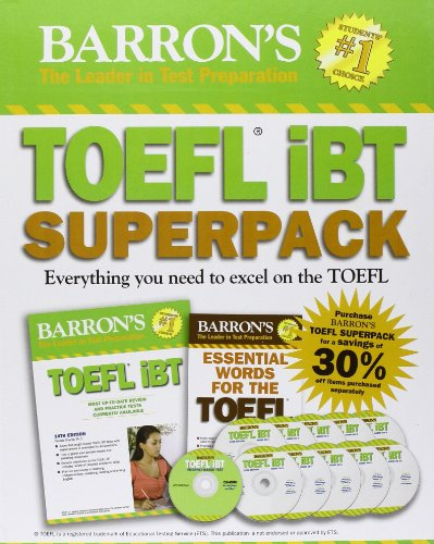 9781438072852: Barron's TOEFL iBT Superpack, 2nd Edition