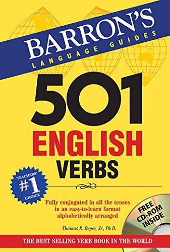 501 English Verbs with CD-ROM (501 Verb Series): Beyer Jr., Thomas R.