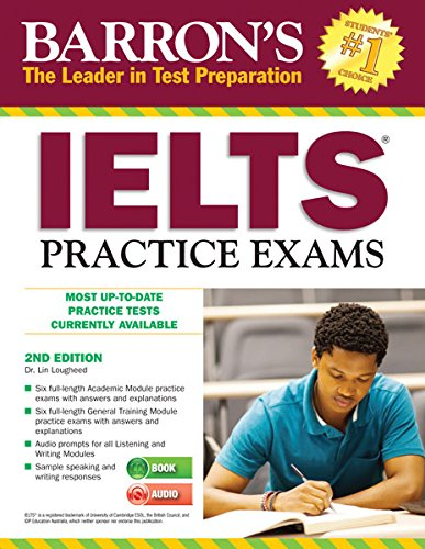 9781438073316: IELTS Practice Exams (Barron's Ielts Practice Exams): International English Language Testing System