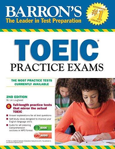 9781438073996: Barron's TOEIC Practice Exams