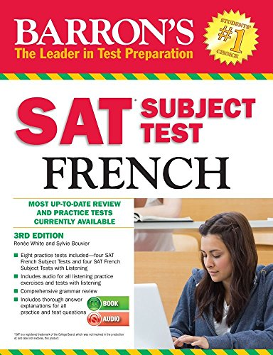 9781438074047: Barron's SAT Subject Test French with Audio CDs, 3rd Edition