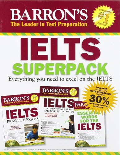 9781438074085: Barron's IELTS (Books & CDs) 2nd Edition