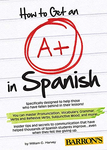 9781438074092: How to Get an A+ in Spanish with MP3 CD