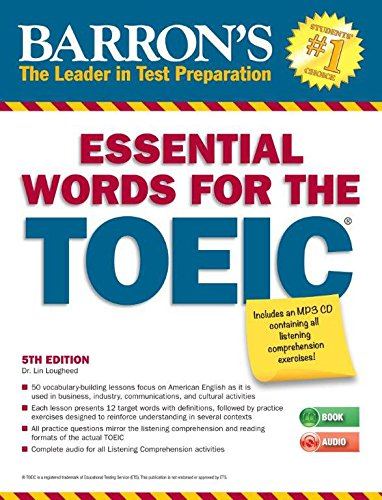 9781438074450: Essential Words for the TOEIC with MP3 CD, 5th Edition