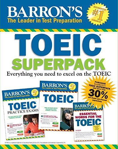 9781438074764: Barron's TOEIC Superpack