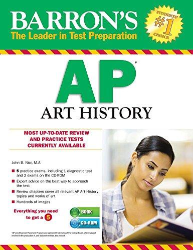 9781438075136: Barron's AP Art History with CD-ROM, 3rd Edition (Barron's AP Art History (W/CD))