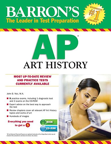 9781438075136: Barron's AP Art History with CD-ROM, 3rd Edition (Barron's AP Art History (W/CD))