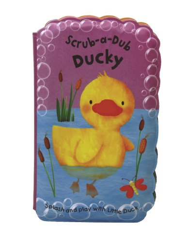 Scrub-a-Dub Ducky: Bath Mitt and Bath Book Set: Rivers-Moore, Debbie