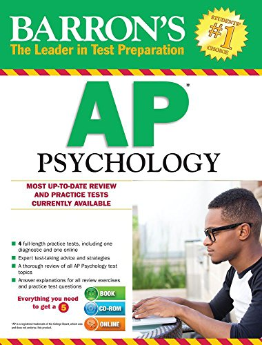 9781438076058: Barron's AP Psychology with CD-ROM, 7th Edition