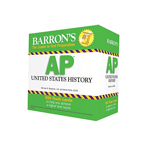 9781438076096: Barron's AP US History Flash Cards, 3rd Edition