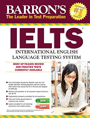 Barron's Ielts with MP3 CD, 4th Edition: Dr Lin Loughleed