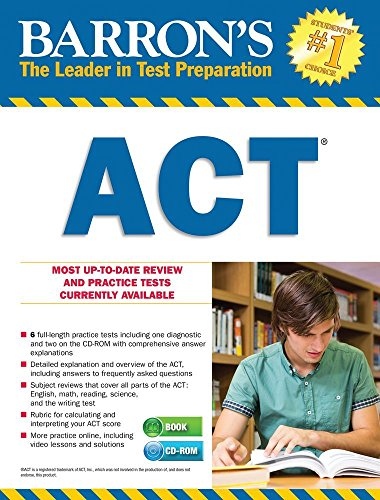 9781438076379: Barron's ACT with CD-ROM, 2nd Edition (Barron's Act (Book & CD-Rom))