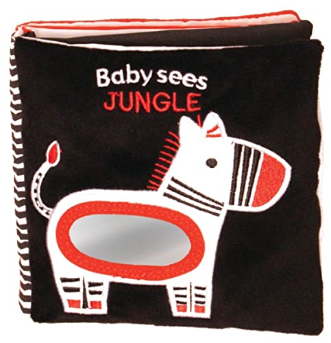 9781438077598: Jungle: A soft book and mirror for baby! (Baby Sees Cloth Books)