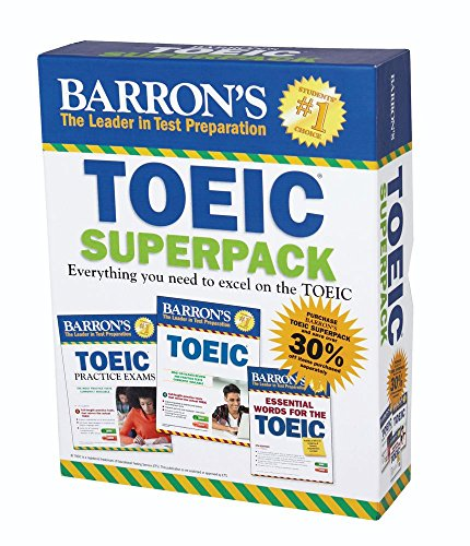 9781438077697: Barron's TOEIC Superpack