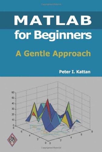 9781438203096: MATLAB For Beginners: A Gentle Approach