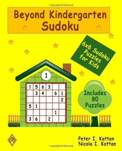 9781438212784: Beyond Kindergarten Sudoku: 6X6 Sudoku Puzzles For Kids